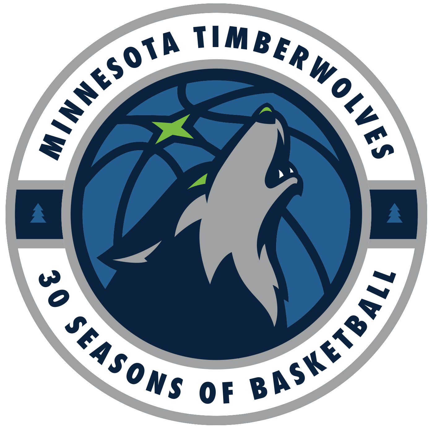 Minnesota Timberwolves 30th Season.
