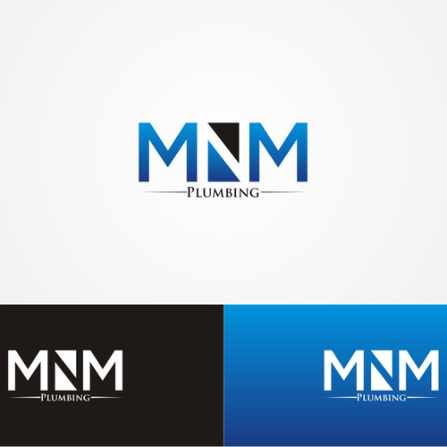 MNM Plumbing needs a new logo.