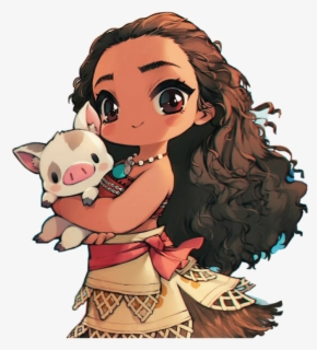 Free Moana Clip Art with No Background.