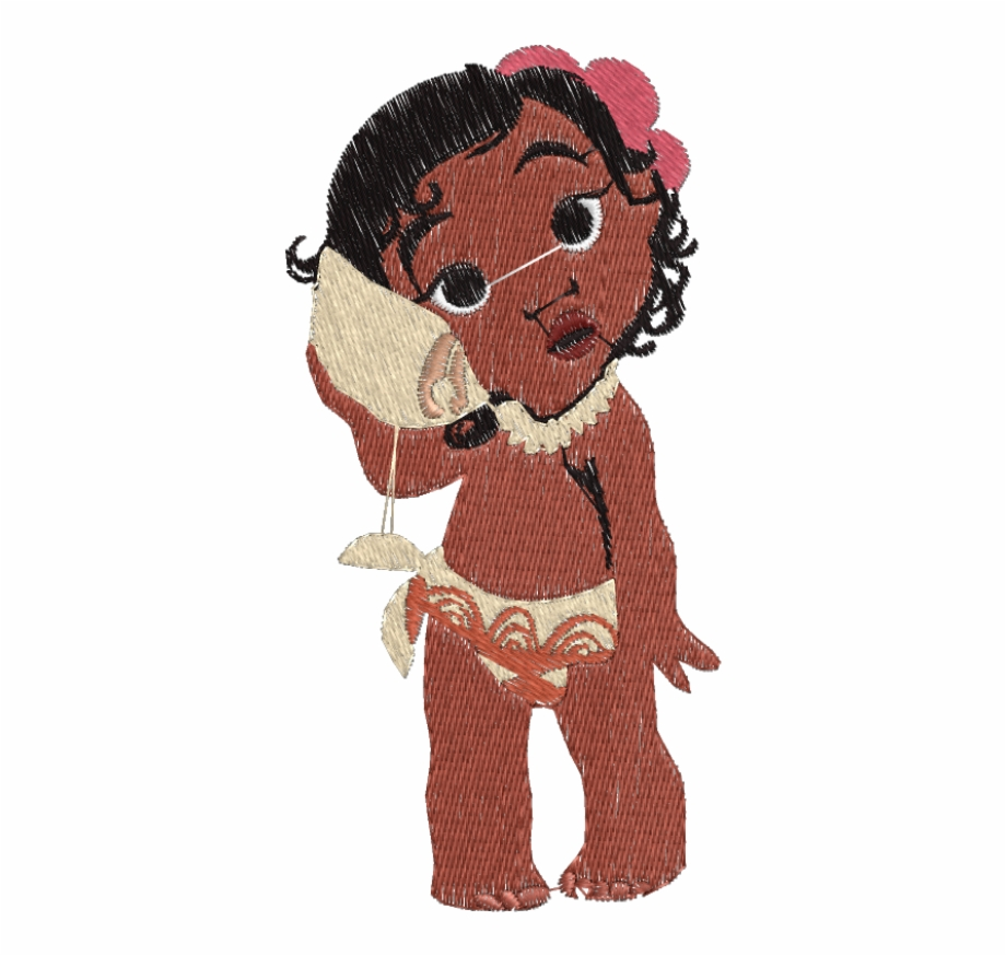 Baby Moana, Transparent Png Download For Free #2236657.