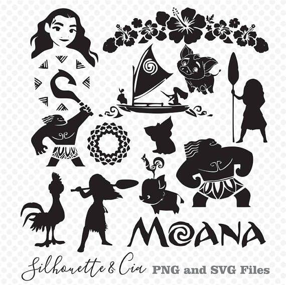 Moana clipart black and white 3 » Clipart Portal.