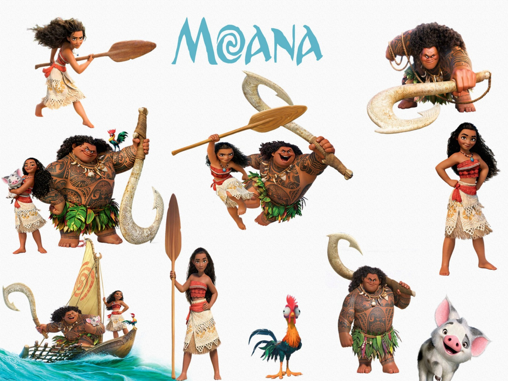 Disney Moana Clipart High Quality Png.
