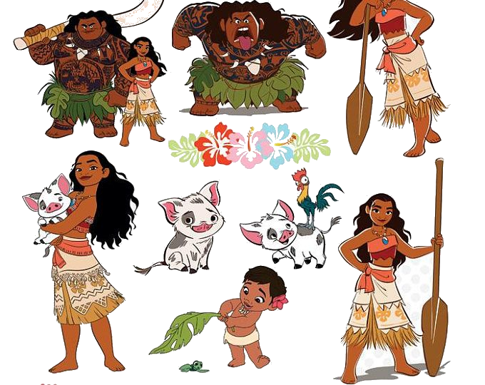 Moana Free Clipart Clip Art On Transparent Png 8.