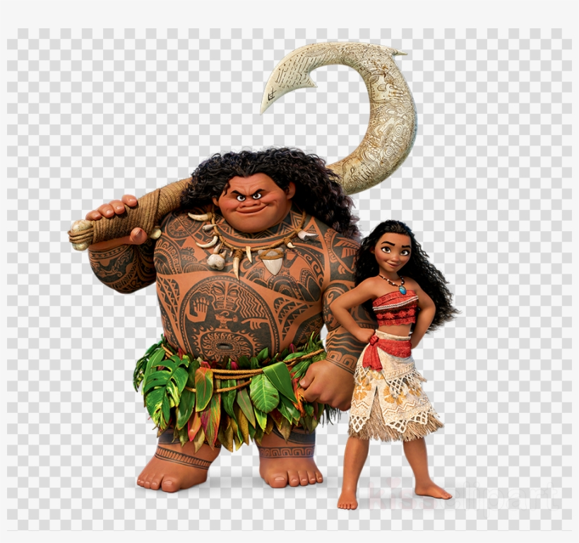 Download Maui Moana Clipart Maui Māui Hei Hei The Rooster.