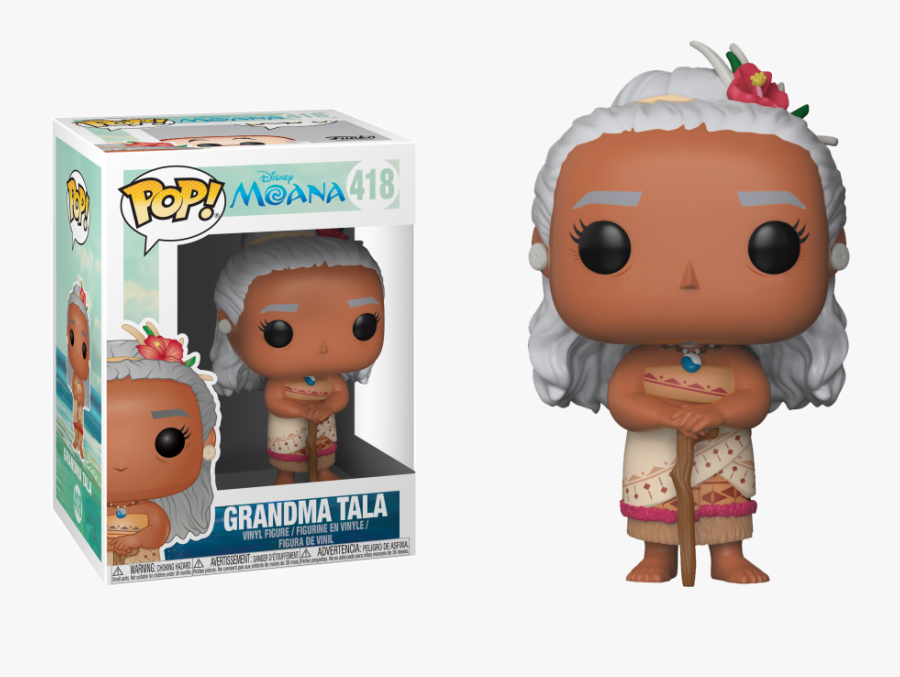 Transparent Moana Grandma Clipart.