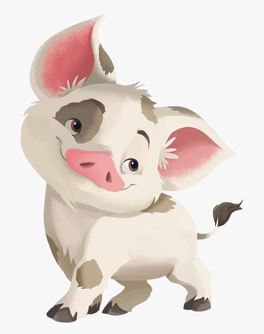 Moana Pig Png.
