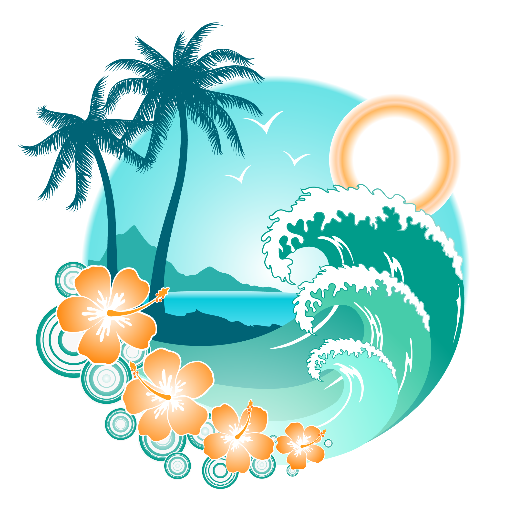 Holidays Png Transparent Images Png All Moana Wave.