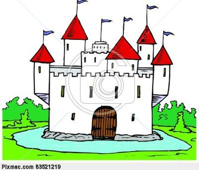Castle Moat Clipart.