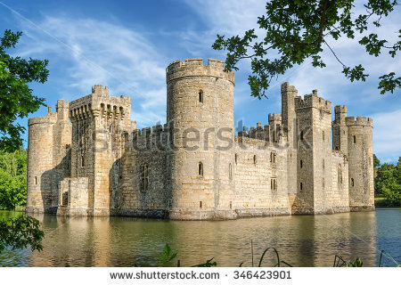 "moated Castle"" Stock Photos, Royalty."