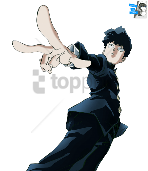 Download Free png mob psycho 100 PNG image with transparent.