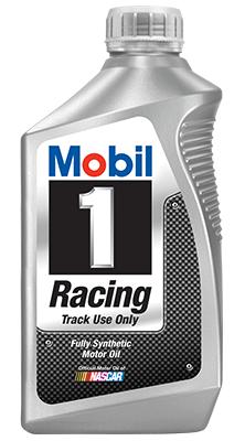Mobil 1 Racing™ oil.