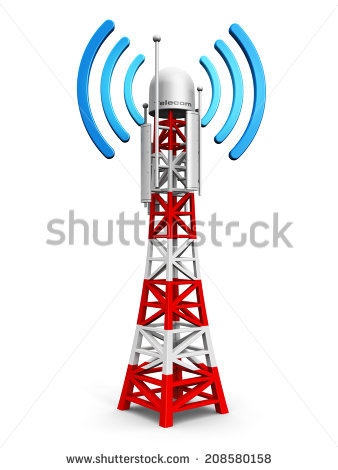 Mobile Tower Stock Images, Royalty.