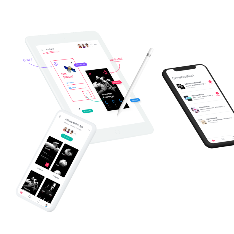 Meet the new InVision mobile app.