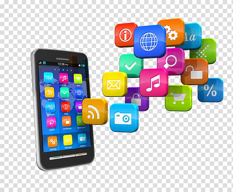 Of smartphone and app icons, Mobile app development.