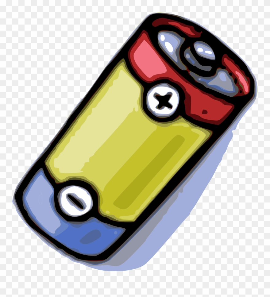 Battery Clipart Mobile Battery.