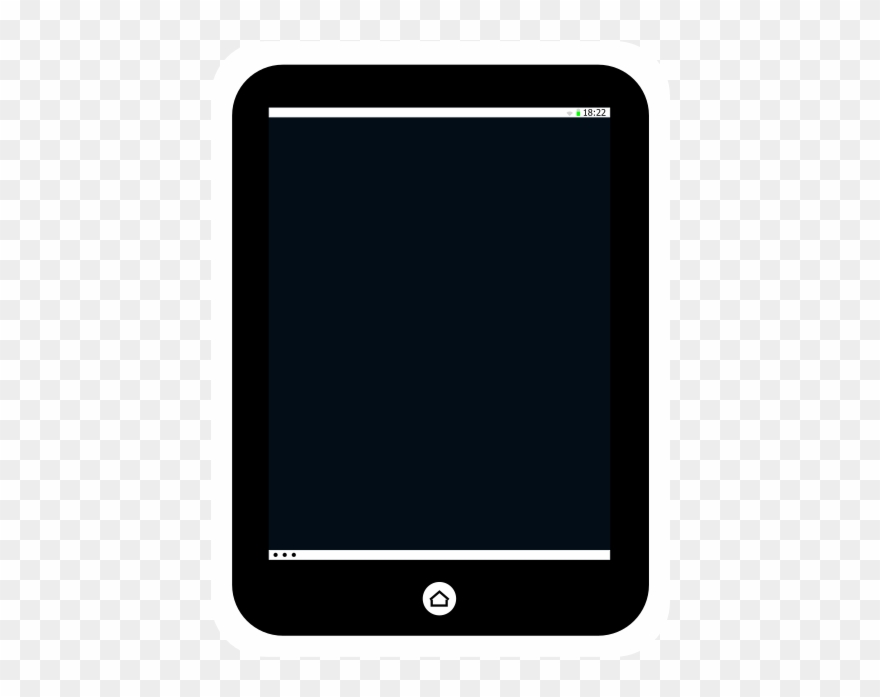 Tablet Display Color And Clip Art Free Download.