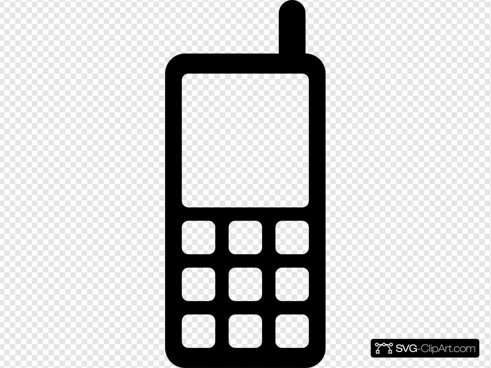 Icon Mobile Phone Clip art, Icon and SVG.
