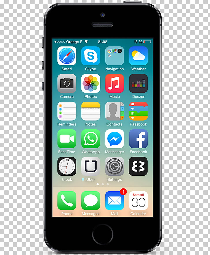 IPhone 5c iPhone 4S iPhone X, mobile phone interface PNG.