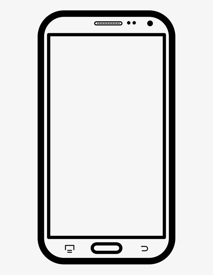 Mobile Frame Png images collection for free download.