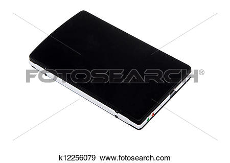 Stock Illustration of mobile hard disk k12256079.