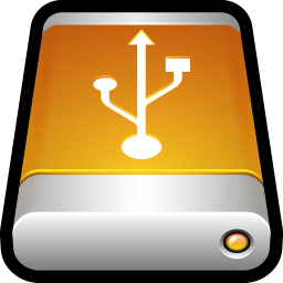 Device External Drive USB Icon.