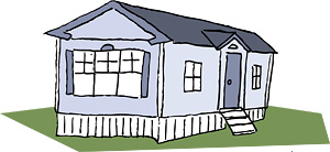 Mobile Home Clipart.