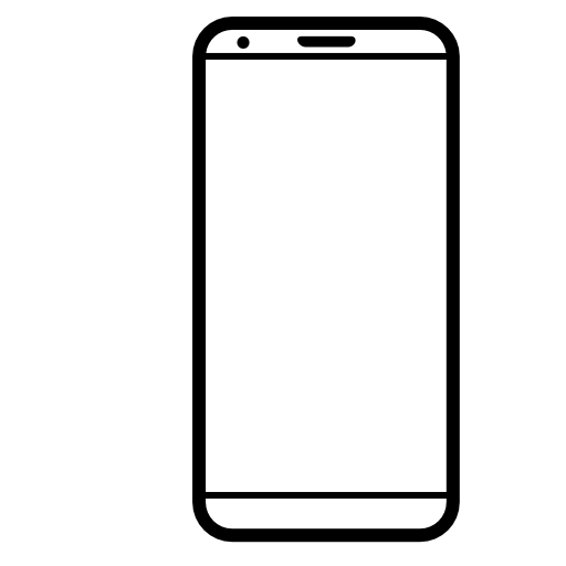 mobile phone logo icon.