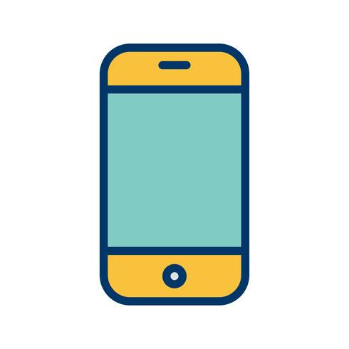 Phone Cell Icon Vector Illustration.