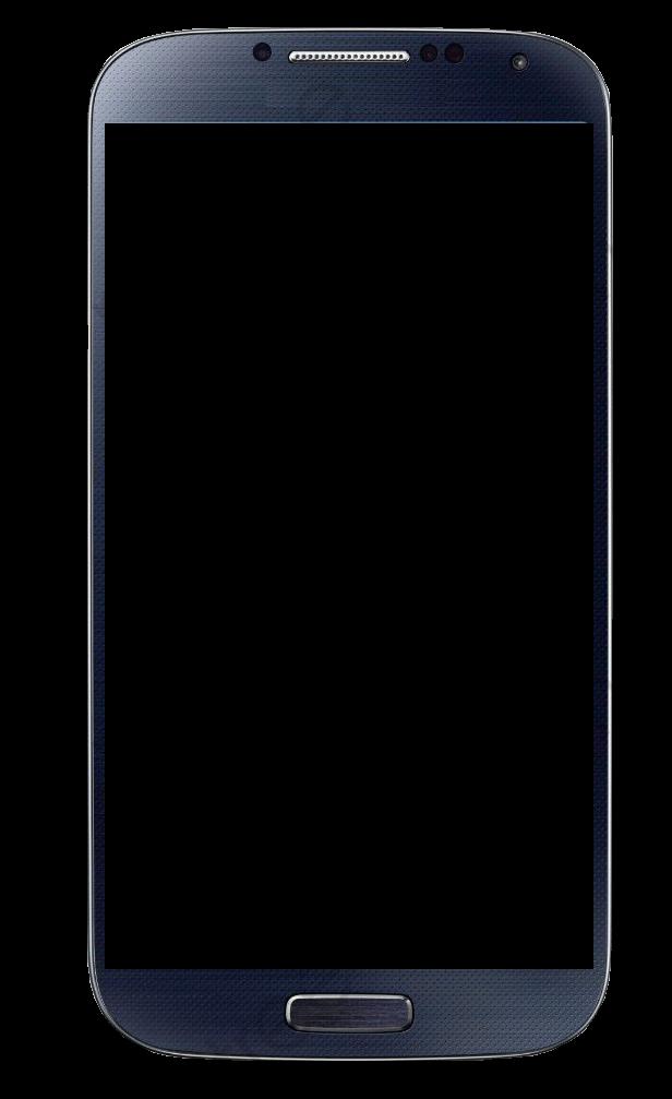 Black Border Mobile Phone, Phone Clipart, Phone, Decorative.