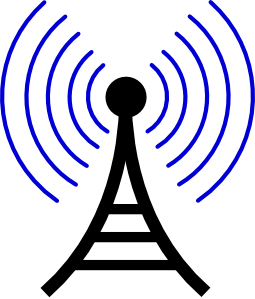 Radio/wireless Tower Clip Art at Clker.com.