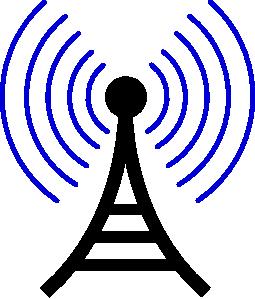 Radio/wireless Tower Clip Art at Clker.com.