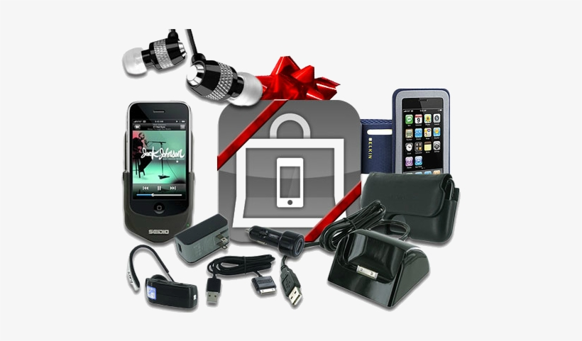 Cell Phone Accessories Png.