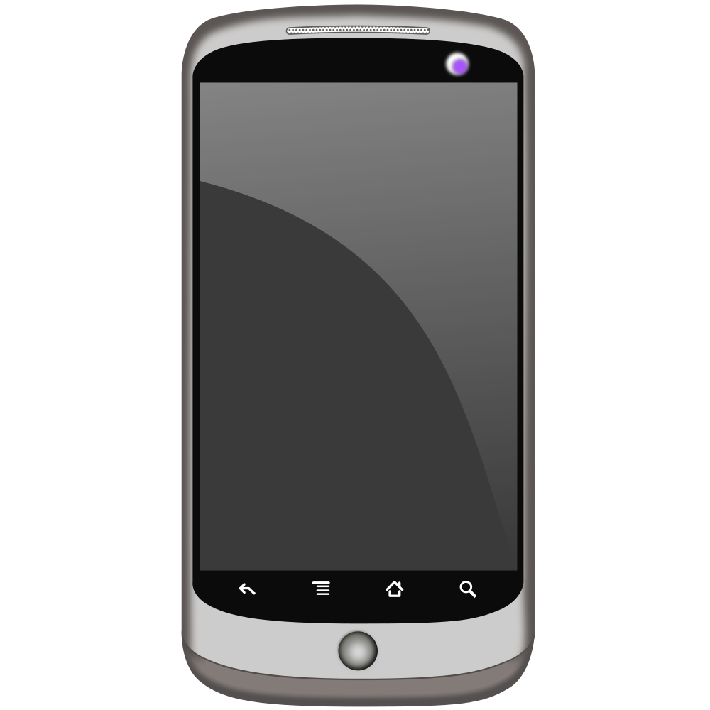 Mobile phone clipart images.