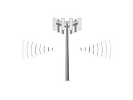 Cell Tower Vector.