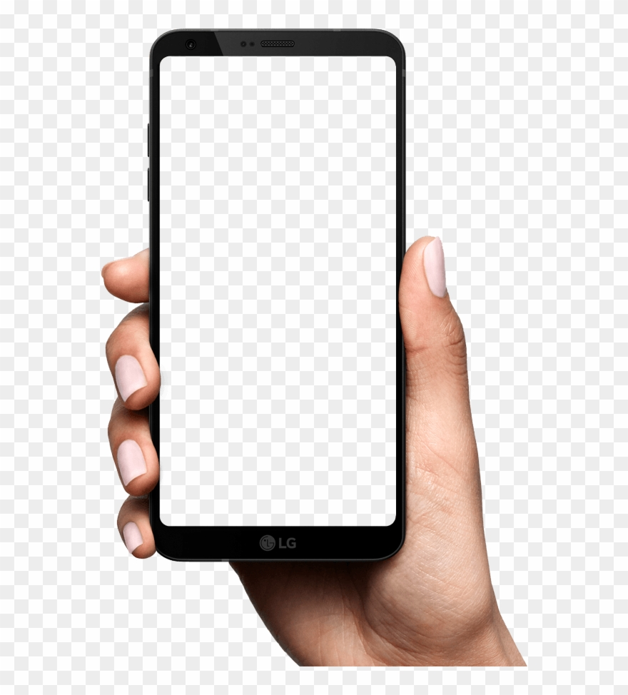 Samsung Mobile Phone Clipart Hand Png.