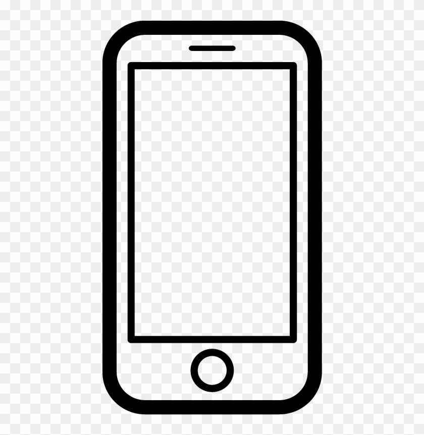 Mobile Phone Icon Vector Png.