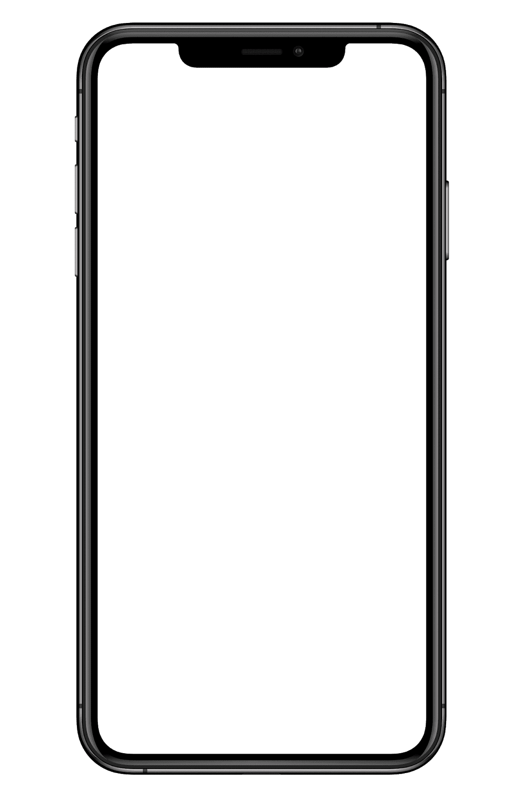 Mobile Frame for png image High Quality.