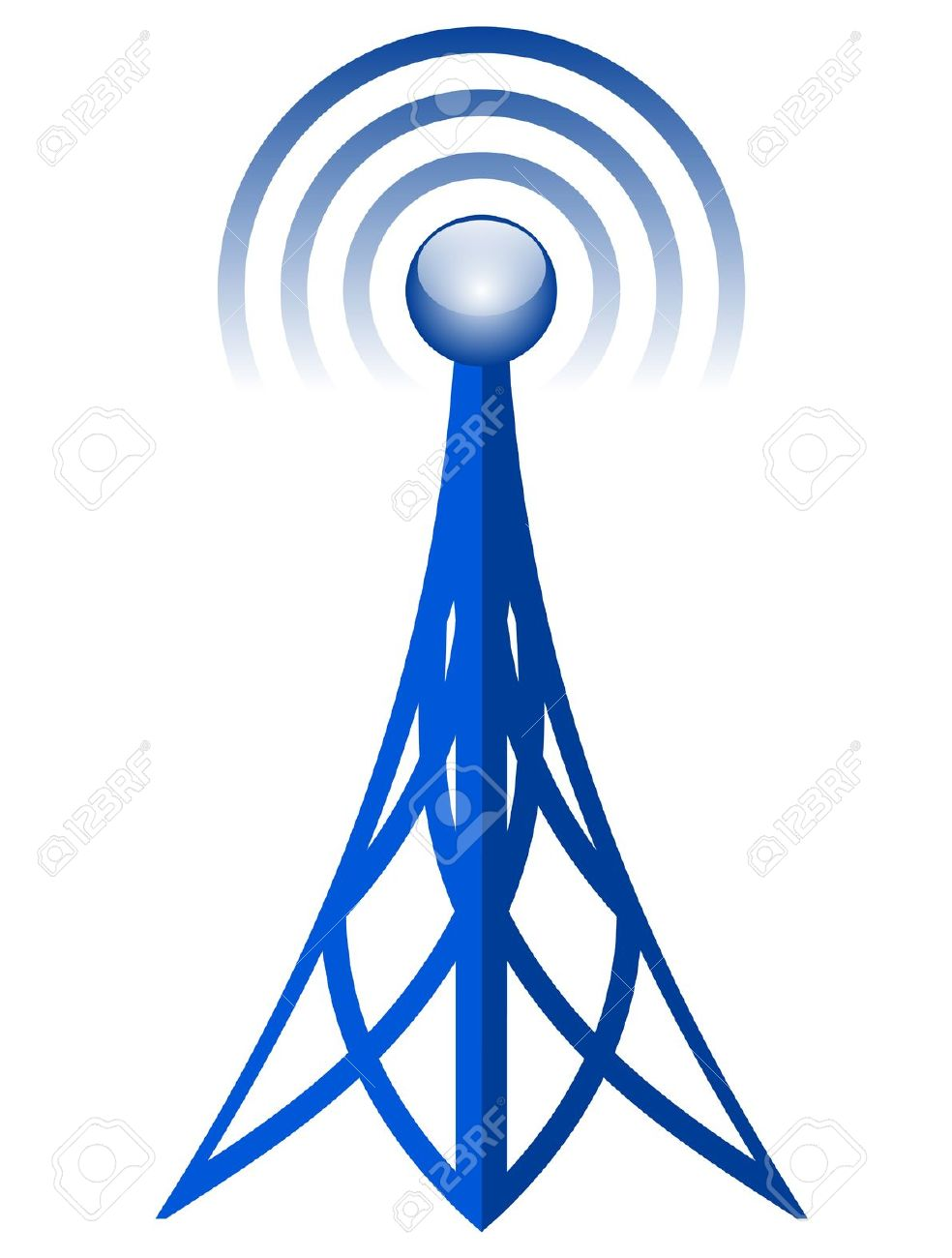 Vector Antenna Icon Royalty Free Cliparts, Vectors, And Stock.