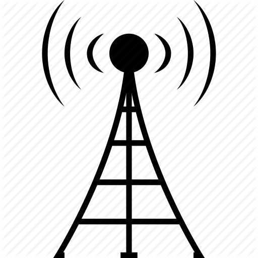 mobile radio antennas clipart