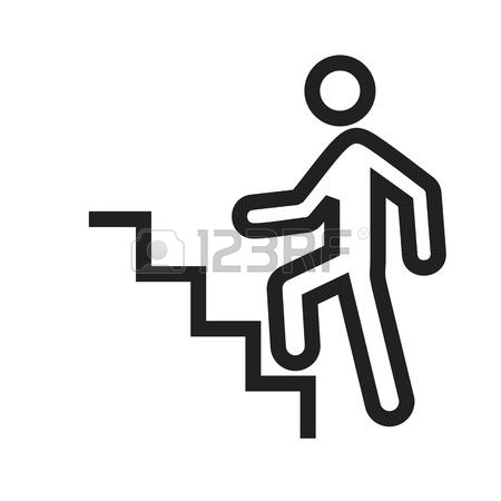Stairs Walk Cliparts, Stock Vector And Royalty Free Stairs Walk.