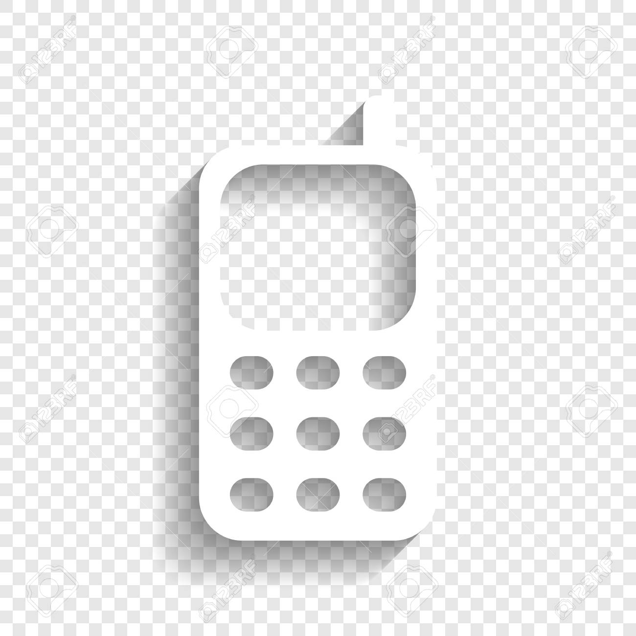 8911 Phone free clipart.