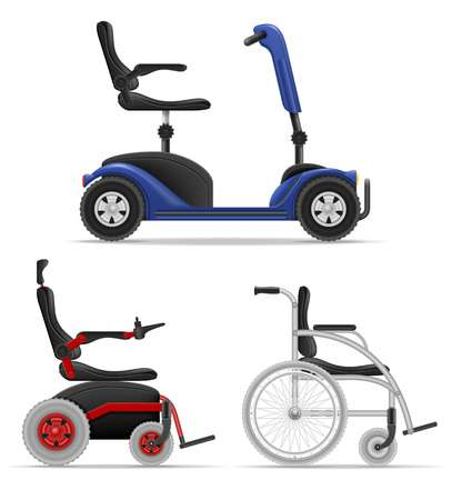 1,276 Mobility Scooter Stock Illustrations, Cliparts And.