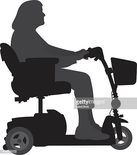 60 Top Mobility Scooter Stock Illustrations, Clip art.