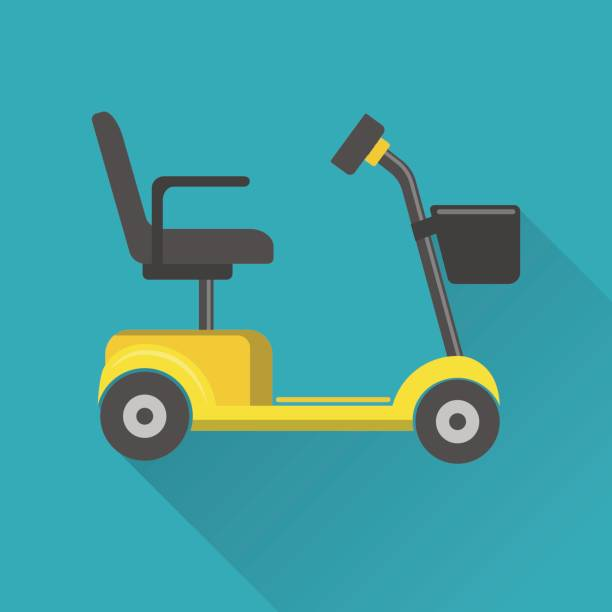 Best Mobility Scooter Illustrations, Royalty.