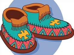 Free Moccasin Clipart.