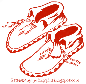 Gallery For > Moccasins Clipart Drawing.