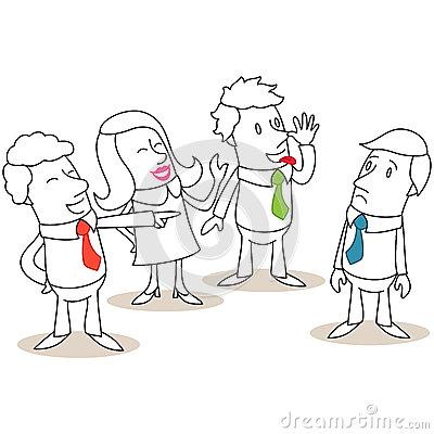 Mocking Stock Illustrations.