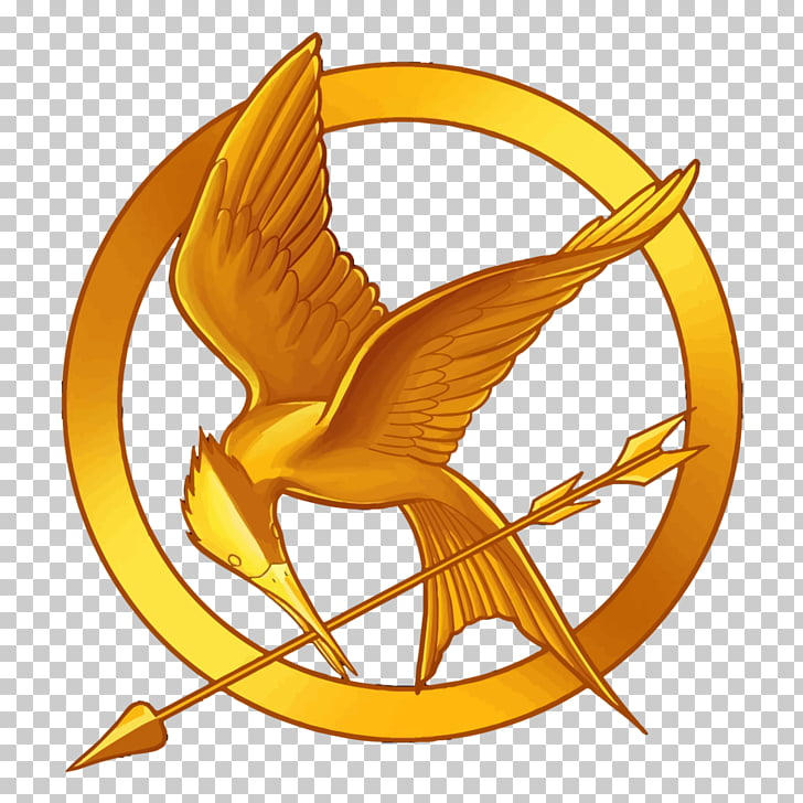 Mockingjay Catching Fire The Hunger Games Peeta Mellark Logo.