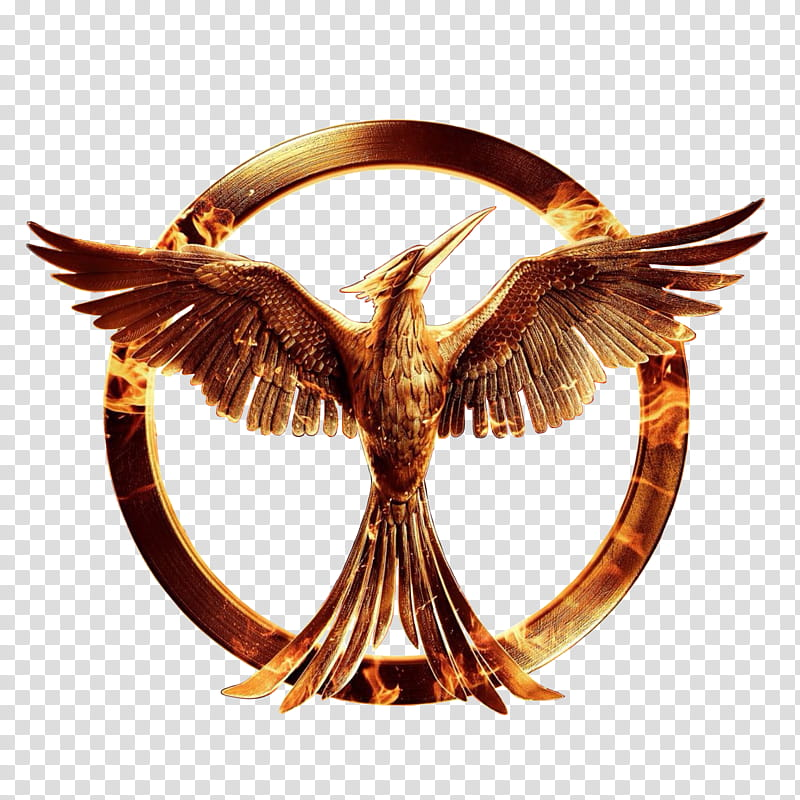 The Hunger games Mockingjay part , phoenix logo transparent.