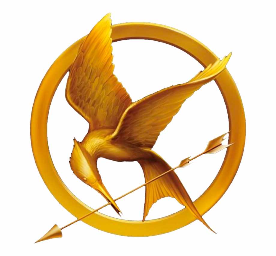 Transparent Mockingjay Pin Edited (badly) By Totally.